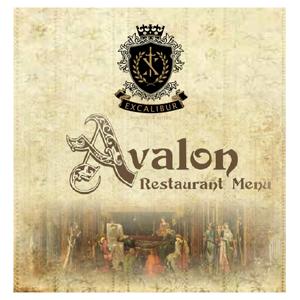 Excalibur-Castle-Feast-Menu-Wine-list-Cover